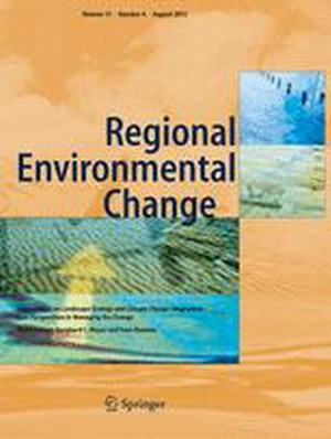 The special issue of SICMED published in the journal Regional Environmental Change