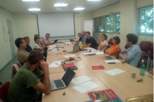 Visit of Elisabeth Claverie (Saint Martin), Director General of CIRAD, Delegate for Research and Strategy